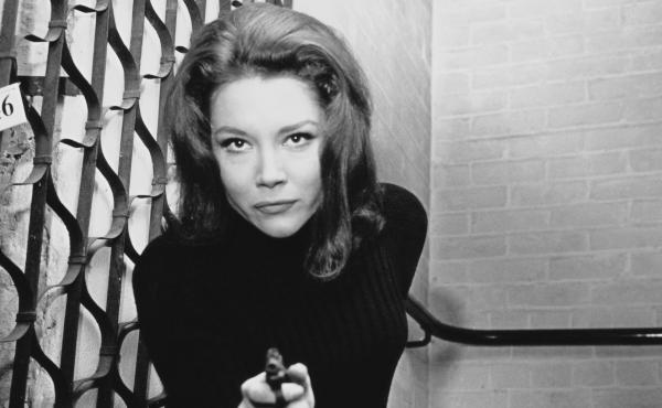 English actor Diana Rigg became widely known in the U.S. for her role as Emma Peel in the 1960s TV series The Avengers. She died Thursday in her home in London.