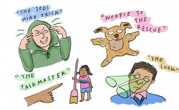 Illustration of discipline strategies.