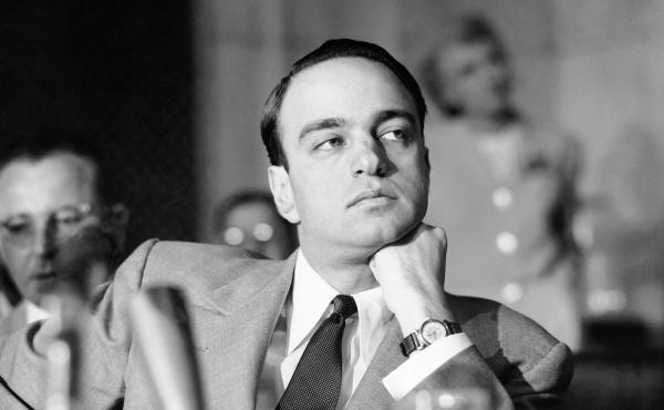 Roy Cohn, pictured here sitting on a senate investigation subcommittee, is remembered as a master political manipulator in Where's My Roy Cohn?