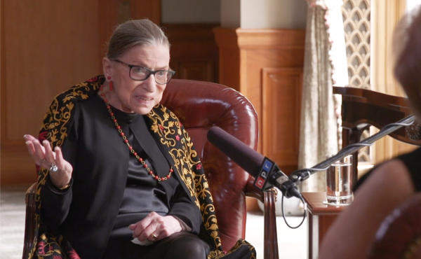 Nina Totenberg interviews Justice Ruth Bader Ginsburg about her legacy