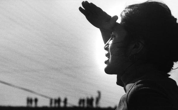 United Farm Workers leader Dolores Huerta at the Delano grape workers strike in Delano, Calif., 1966. The strike set in motion the modern farmworkers movement.