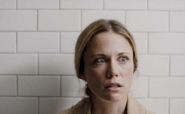 Claire Coffee stars as a mother who starts vomiting up toys in Bridget Moloney's short film Blocks.
