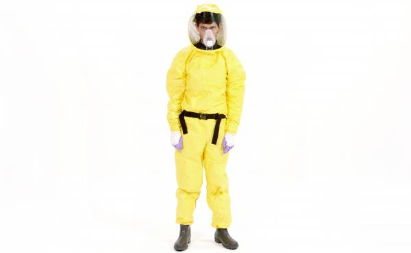This design of this new anti-Ebola suit will make health workers more comfortable and could also save lives.