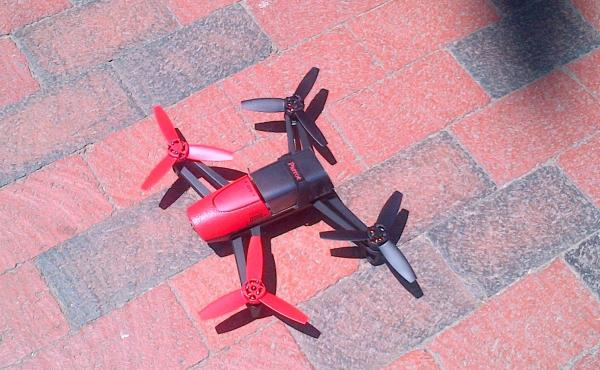 This small unmanned aerial vehicle was spotted flying near the White House.