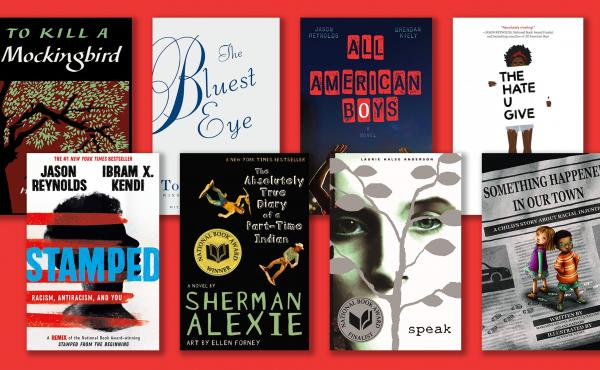 Some books that have been banned at schools in the U.S.