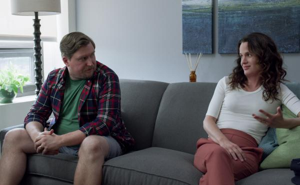 In the third and final season of Easy, a show about people whose lives are anything but, Michael Chernus and Elizabeth Reaser reprise their roles as a couple experimenting with an open marriage.