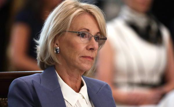 In April, U.S. Education Secretary Betsy DeVos issued guidance suggesting private schools should benefit from a representative share of federal coronavirus aid money.