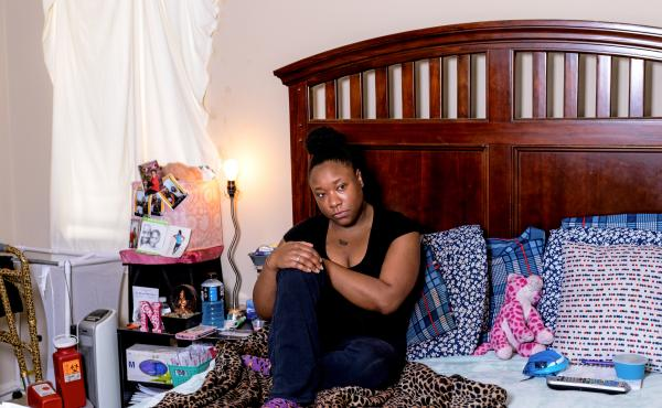 "from local story: ""Sickle cell pain has a mind of its own,"" said Anesha Barnes, who's had the disease since she was a baby. She says the longer she stays in a pain crisis, the harder it is to break out of it."