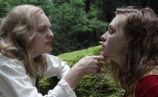 """Shirley Jackson (Elisabeth Moss) and her long-term houseguest Rose (Odessa Young) form an unusual bond in Shirley. The film mixes fact and fiction to explore the life of the American writer best known for her short story """"The Lottery."""""""