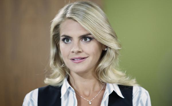 Eliza Coupe in Benched.