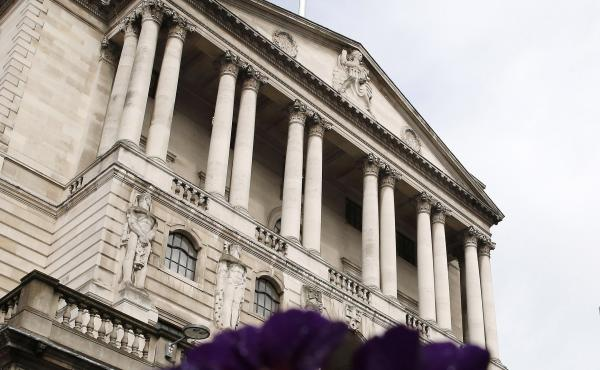 The Bank of England in London in a photograph taken in March. The central bank inadvertently revealed that it was planning for a possible withdrawal of the U.K. from the European Union.