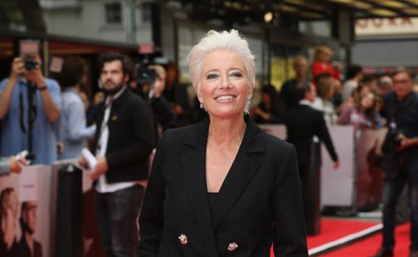 Emma Thompson, shown here at a film premiere last year, has pulled out of the animated film Luck.