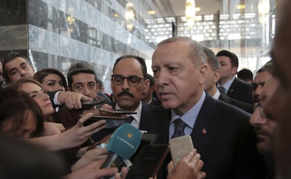 Turkey's President Recep Tayyip Erdogan canceled a meeting with U.S. national security adviser John Bolton on Tuesday, in an apparent snub. Erdogan disagrees with U.S. calls to protect Kurdish militants in Syria who have helped in the fight against ISIS.