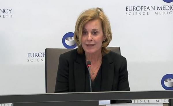 Dr. Sabine Straus, chair of the European Medicines Agency's Pharmacovigilance Risk Assessment Committee, said Thursday that the committee had concluded there is no increase in the overall risk of blood clots with the AstraZeneca vaccine.