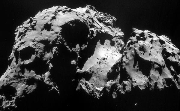 The Comet 67P/Churyumov-Gerasimenko smells of rotten eggs, drunk people and horses.