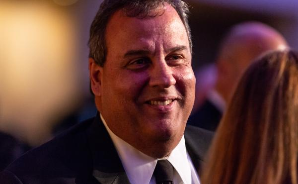 Former New Jersey Gov. Chris Christie attends the White House Correspondents' Association dinner at The Washington Hilton in Washington, D.C., on April 28, 2018.
