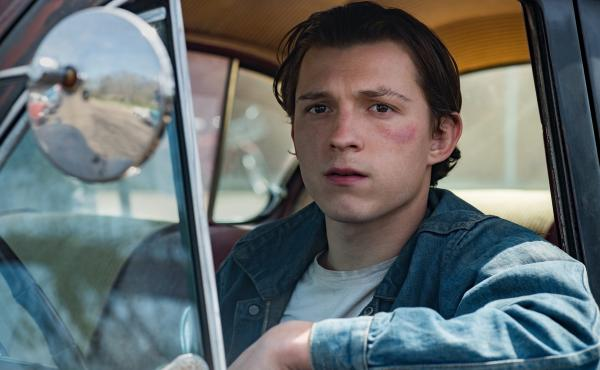 Tom Holland plays Arvin, a young man who refuses to let evil go unpunished in The Devil All the Time.