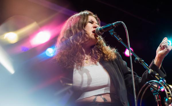 Best Coast performing live for World Cafe