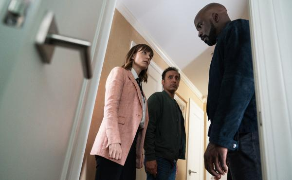 Katja Herbers, Aasif Mandvi and Mike Colter investigate phenomena that are not easily explained on the CBS series Evil.