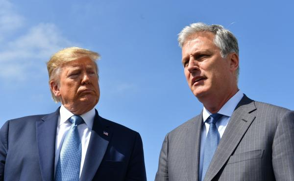Robert O'Brien's first order of business when he took over the NSC in September was to make cuts in what he saw as a bloated foreign policy wing.