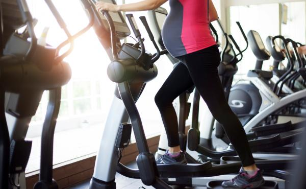 Women worry that bad things will happen if they exercise while pregnant, but doctors say in almost all cases it's not just safe, but can improve health.