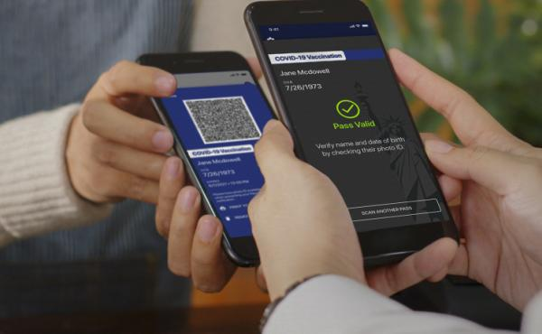 New York State's Excelsior Pass is an app that people can use to show proof of vaccination or a negative COVID-19 test.