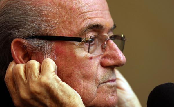 FIFA President Sepp Blatter told a news conference in Colombo, Sri Lanka, on Tuesday that FIFA wasn't responsible for the working conditions of laborers who are building the stadiums for the 2022 World Cup in Qatar. He said the companies that employed the