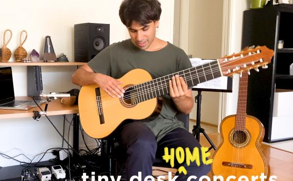 Fabiano do Nascimento plays a Tiny Desk (home) concert.