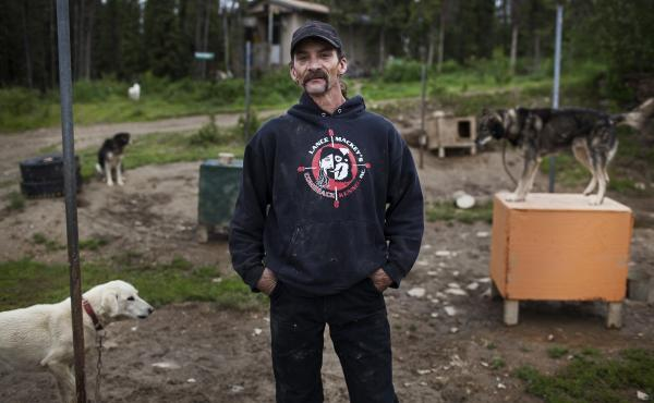 In the dog mushing world, 44-year-old Lance Mackey is like Michael Jordan. The sled dog racing veteran returns to the Yukon Quest this year.