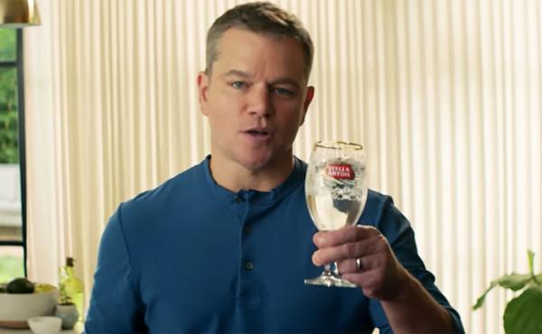 Matt Damon talks about the partnership between Stella Artois and Water.org.