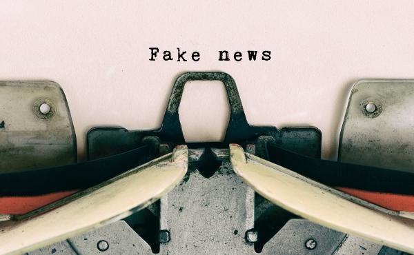 Fake news in old school technology