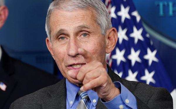 """""""I think the American public have done a really terrific job of just buckling down and doing those physical separation and adhering to those guidelines,"""" National Institute of Allergy and Infectious Diseases Director Dr. Anthony Fauci said Thursday. Fauci"""