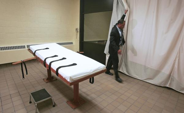 The Southern Ohio Correctional Facility's death chamber has been unused since January 2014, when executions in the state were put on hold after problems putting an inmate to death.