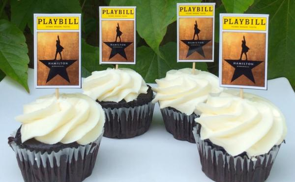 Hamilton-inspired cupcake toppers. It was only a matter of time before fans of the Broadway hit sought out culinary tributes to their most treasured folk hero.