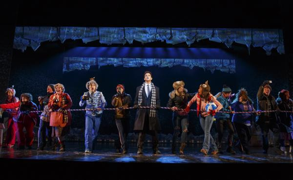 The original Broadway cast recording of Groundhog Day The Musical comes out April 21.
