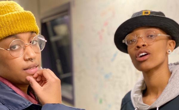 The hip-hop duo GentleJawns is featured in this week's installment of Slingshot City Scenes.