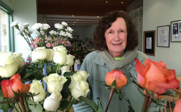 Rosa Ashby runs Rosa Flowers in the English market town of Witney. Every flower in her shop, including lilies, chrysanthemums and lisianthus, is either grown in or distributed through the Netherlands.