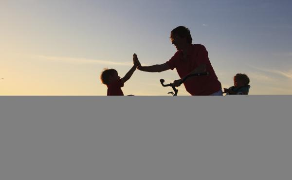 More than 90 percent of American parents think they are doing a good or very good job raising their kids, according to a Pew poll.