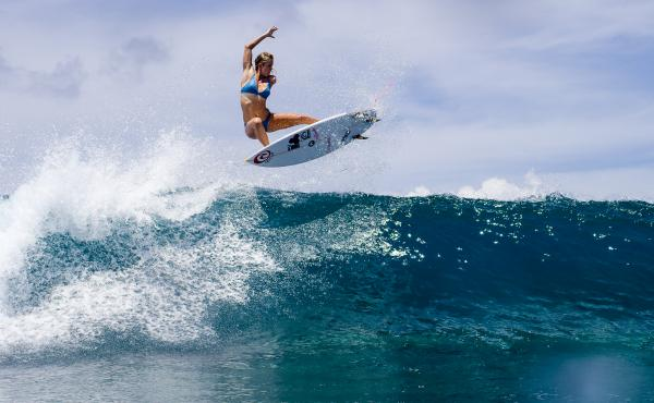 """Sometimes I just want to hide in my island home back in Hawaii and keep things simple,"" says surfer Bethany Hamilton. But she believes her story can be an example of ""inspiration and hope"" for young people."