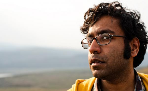 """Comic Hari Kondabolu's album Waiting for 2042 is a reference to the year the Census Bureau projects whites will be the minority in the U.S. """"Don't worry, white people,"""" he says. """"You were a minority when you came to this country. Things seemed to have wor"""