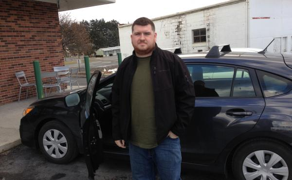 Jed Brown drives 100 miles each day to work between Pennsylvania and West Virginia. Cheaper gas is making his commute more manageable, but he doesn't expect the low prices to last.