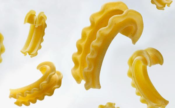 Meet cascatelli, a pasta shape created by Dan Pashman, host of the food podcast The Sporkful.