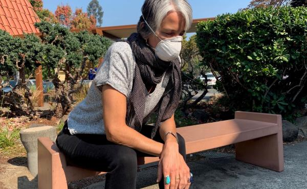 More than 300 fires broke out in Northern California over the past week, leaving residents like Danielle Bryant waiting for updates and a change in the weather.