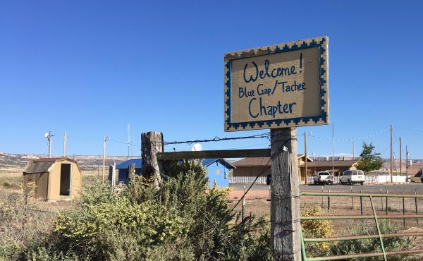 Many people who live in the Blue Gap-Tachee Chapter in northeastern Arizona remember when mining companies blasted uranium out of the Claim 28 site near their homes. Dust from mine explosions coated everything.