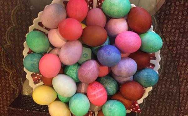 Like other spring holidays, Sere Sal, the Yazidi new year, is about fertility and new life. An ancient Kurdish religious minority, the Yazidis color eggs for the holiday in honor of the colors that Tawus Melek, God's chief angel, is said to have spread th