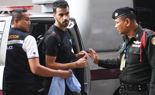 Hakeem al-Araibi, a soccer player with refugee status in Australia, was detained in Bangkok as he began a vacation. Bahrain wants him extradited after a vandalism conviction, but Araibi fears he will be tortured.