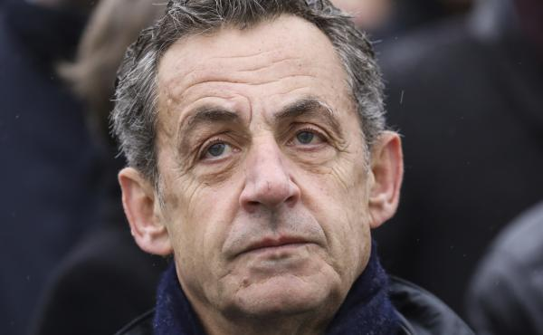 French former president Nicolas Sarkozy, shown here at a ceremony in November, is expected to face trial over alleged graft later this year.