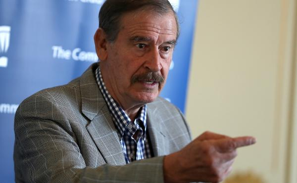 Former Mexican President Vicente Fox spoke with NPR about his book, Let's Move On: Beyond Fear & False Prophets. The book highlights the North American Free Trade Agreement between the U.S., Mexico and Canada.