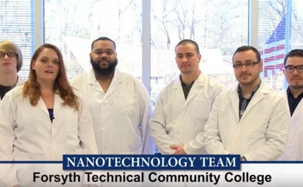 Forsyth Tech Nanotech team
