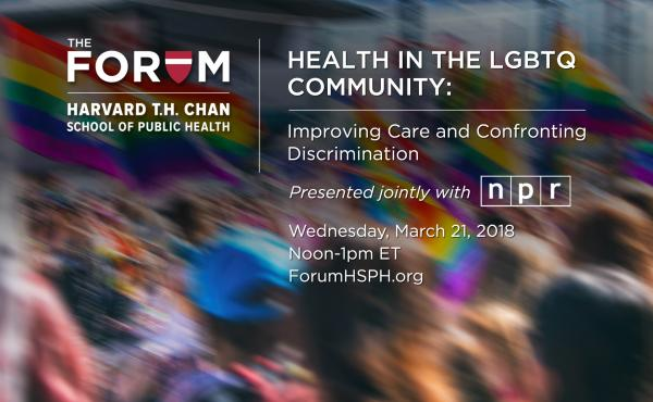 How do LGBTQ adults experience discrimination and how does it impact their health? Experts discuss the issue in a webcast from Harvard's Chan School of Public Health.